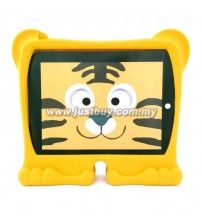 iPad 2, iPad 3, iPad 4 Griffin Kazoo Animal Stand Up Silicone Case - Tiger