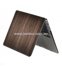 Macbook PRO Retina 13 Inch A1502/A1425 Art Graphic Rubberized Hard Case - Wood Grain Brown