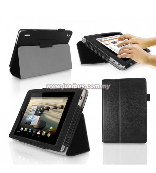 for ACER ICONIA B1-A71 Tablet PU Leather Folding Folio Cover Case