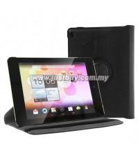 Acer Iconia A1-810 Rotating Leather Case - Black