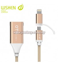 WSKEN OTG Converter Fast Charging M-Cable
