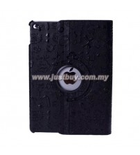 iPad Air 2 Cute Design Rotating Case - Black