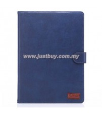 iPad Air 2 Premium Leather Case - Blue