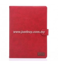 iPad Air 2 Premium Leather Case - Red