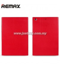 iPad Air 2 REMAX ELLE MAN Leather Case - Red