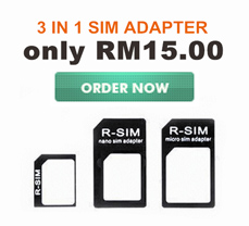 3 in 1 Nano Sim Adapter