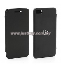 BlackBerry Z10 Flip Cover - Black