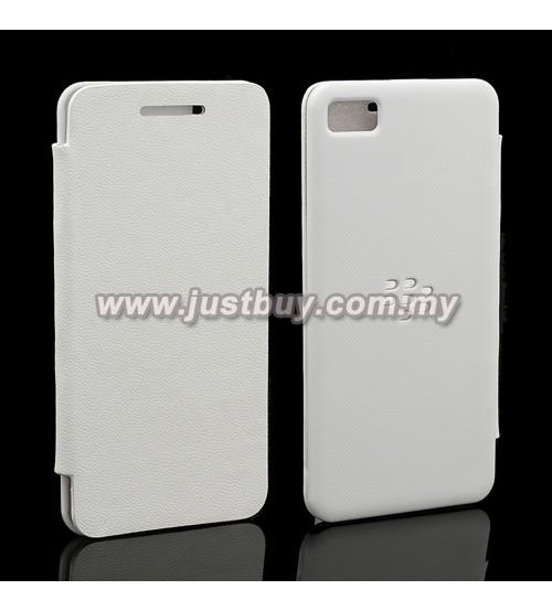 Buy Blackberry Z10 Nillkin Shape Fashion Flip Case - Grey Malaysia