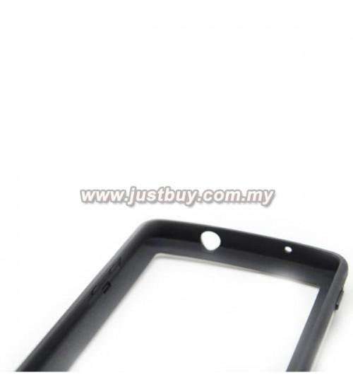 buy google nexus 5 tpu bumper case blue malaysia