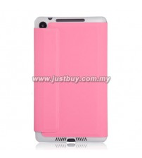 Google Nexus 7 (2013) Slim Book Case - Pink