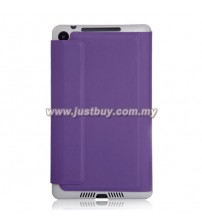 Google Nexus 7 (2013) Slim Book Case - Purple