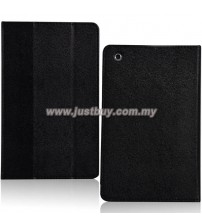 HP Slate 7 Extreme Premium Leather Case - Black