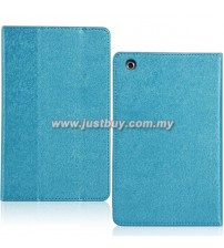 HP Slate 7 Extreme Premium Leather Case - Blue