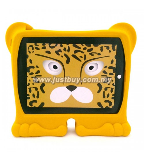 iPad 2, iPad 3, iPad 4 Griffin Kazoo Animal Stand Up Silicone Case - Leopard
