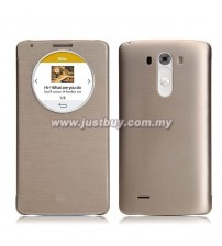 LG G3 Quick Circle Flip Cover - Gold