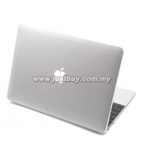 Macbook Retina 12 Inch Rubberized Hard Cover Case - White