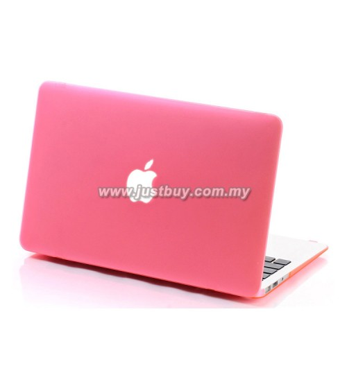 MacBook Air 11.6, 13.3 Matte Hard Cover Case - Pink