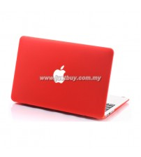 MacBook Air 11.6, 13.3 Matte Hard Cover Case - Red