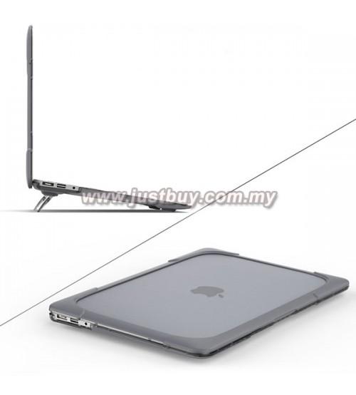 Macbook Pro Retina 13 Inch A1502/A1425 Armor Shock Proof Case - Black
