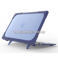 Macbook Pro Retina 13 Inch A1706/A1708 Crystal + TPU Shell Armor Shock Proof Case - Blue