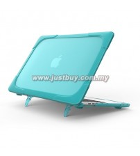 Macbook Pro Retina 13 Inch A1706/A1708 Crystal + TPU Shell Armor Shock Proof Case - Mint