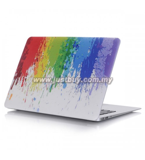 Macbook PRO Retina 13 Inch A1502/A1425 Art Graphic Rubberized Hard Case - Colorful Painting