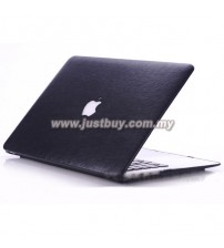 Macbook PRO 13 Inch / 15 Inch Premium Leather Hard Cover