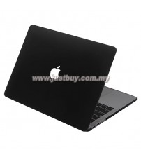 Macbook Pro Retina 13 Inch A1706 / A1708 Matte Hard Cover Case - Black