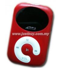 Mini Stereo Speaker MP3 Player - Red