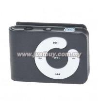 Mini Clip Mp3 Player - Black