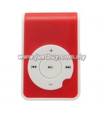 Mini MP3 Player - Red