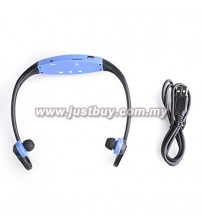 Sport MP3 Player With FM Radio - Blue