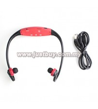 Sport MP3 Player With FM Radio - Red