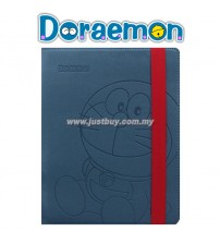 iPad 2, iPad 3, iPad 4 Doraemon Rotating Premium Case - Blue