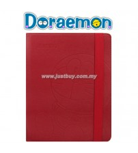 iPad 2, iPad 3, iPad 4 Doraemon Rotating Premium Case - Red