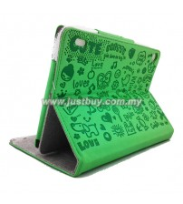 Acer Iconia A1-810 Cute Skin Leather Case - Green