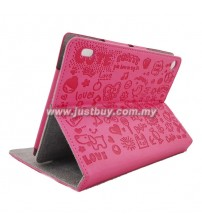 Acer Iconia A1-810 Cute Skin Leather Case - Pink