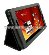 Acer Iconia A100 Leather Case - Black