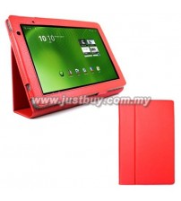 Acer Iconia A500/A501 Leather Case - Red
