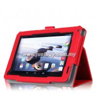 Acer Iconia B1-720 Leather Case - Red
