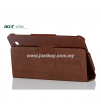 Acer Iconia W7, W700 Genuine Leather Case - Brown