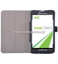 Acer Iconia Talk S A1-724 PU Leather Case - Black