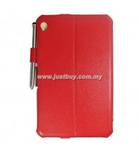 Acer Iconia W3 Premium Leather Case - Red