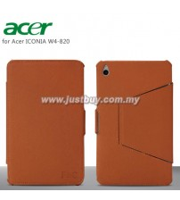 Acer Iconia W4-820 Premium Leather Case - Brown