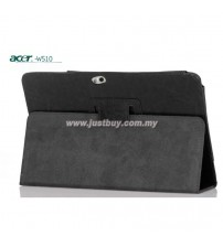 Acer Iconia W5, W510, W511 Genuine Leather Case - Black