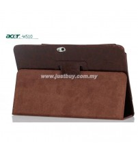 Acer Iconia W5, W510, W511 Genuine Leather Case - Brown