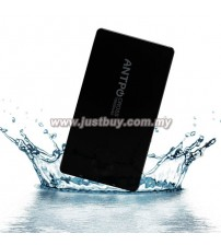 ANTPO 595 15600mAh Waterproof Lithium Polymer Power Bank - Black