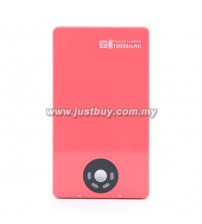 ANTPO 596 15000mAh Lithium Polymer Power Bank - Pink