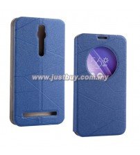 Asus Zenfone 2 S View Flip Case - Blue
