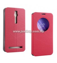 Asus Zenfone 2 S View Flip Case - Red